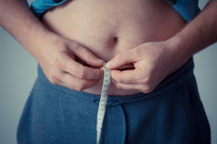 den Bauch messen